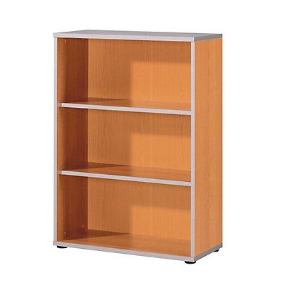 Wellemöbel CLEARLINE Büroregal - 2 Fachböden, HxBxT 1115 x 800 x 362 mm
