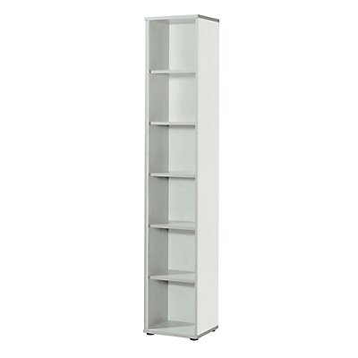 Wellemöbel CLEARLINE Regal - 5 Fachböden, HxBxT 2167 x 400 x 362 mm
