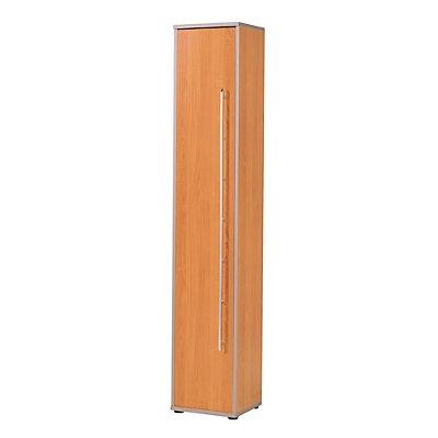 CLEARLINE Büroschrank - 5 Fachböden, HxBxT 2167 x 400 x 362 mm