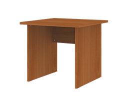 CORINNA Schreibtisch mit Wangen - HxBxT 720 x 800 x 800 mm