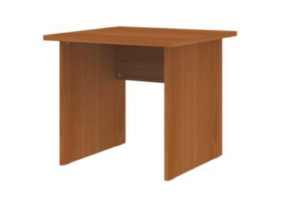 CORINNA Schreibtisch mit Wangen - HxBxT 720 x 800 x 800 mm -