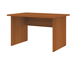 CORINNA Schreibtisch mit Wangen - HxBxT 720 x 1200 x 800 mm
