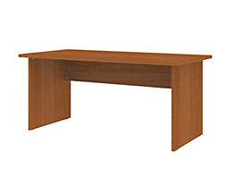 CORINNA Schreibtisch mit Wangen - HxBxT 720 x 1600 x 800 mm