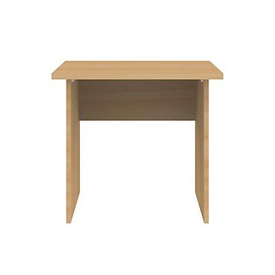 Wellemöbel CORINNA Schreibtisch mit Wangen - HxBxT 720 x 800 x 800 mm