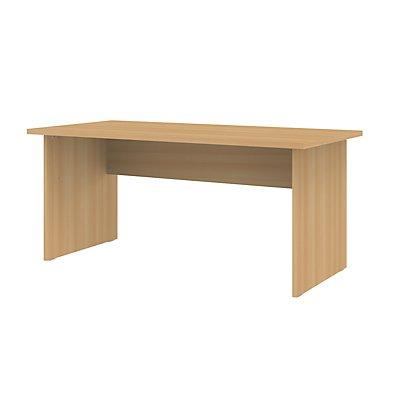 Wellemöbel CORINNA Schreibtisch mit Wangen - HxBxT 720 x 1600 x 800 mm