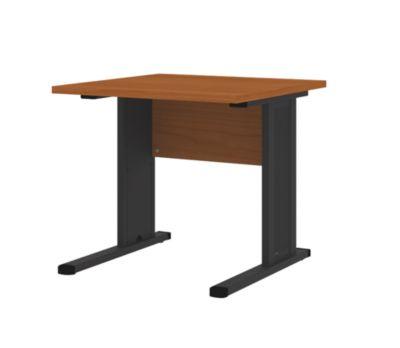 CORINNA Schreibtisch mit C-Fuß-Gestell - HxBxT 720 x 800 x 800 mm -