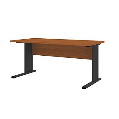 Wellemöbel CORINNA Büro Schreibtisch mit C-Fuß-Gestell - HxBxT 720 x 1600 x 800 mm