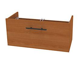 Wellemöbel CORINNA Schublade für Breite 800 mm - Belastbarkeit 12,5 kg - Kirsche-Dekor