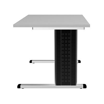 Wellemöbel CORINNA Büroschreibtisch mit C-Fuß-Gestell - HxBxT 720 x 1200 x 800 mm