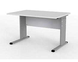 VERA Schreibtisch mit C-Fuß-Gestell - höhenverstellbar, Breite 1200 mm