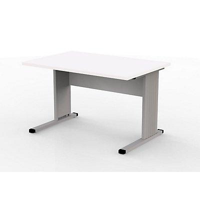 Wellemöbel VERA Schreibtisch mit C-Fuß-Gestell - 1200 mm breit