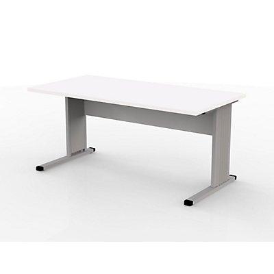 Wellemöbel VERA Schreibtisch mit C-Fuß-Gestell - 1600 mm breit