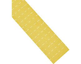 magnetoplan® ferrocard-Etiketten - HxB 10 x 40 mm, 3 VE à 205 Stk - gelb