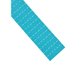 magnetoplan® ferrocard-Etiketten - HxB 10 x 40 mm, 3 VE à 205 Stk - blau
