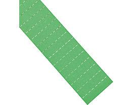magnetoplan® ferrocard-Etiketten - HxB 22 x 28 mm, 3 VE à 75 Stk - grün