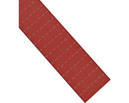 magnetoplan® ferrocard-Etiketten - HxB 22 x 28 mm, 3 VE à 75 Stk - rot