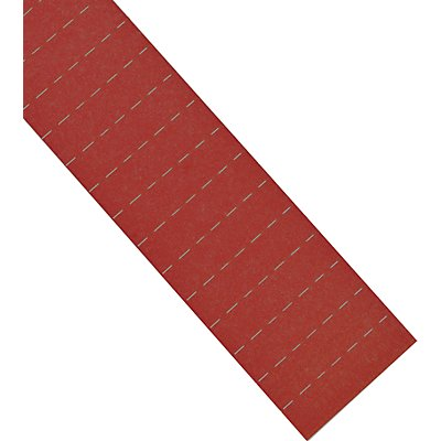 magnetoplan® ferrocard-Etiketten - HxB 15 x 80 mm, 3 VE à 115 Stk
