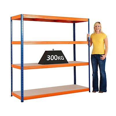 BiGDUG Schwerlast Steckregal von BiGDUG - Tragfähigkeit pro Steckregal 1200 kg