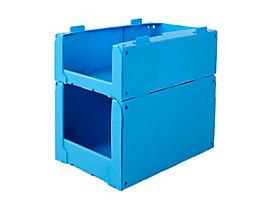 BiGDUG Regalkasten aus Polypropylen – VE 10 Stück