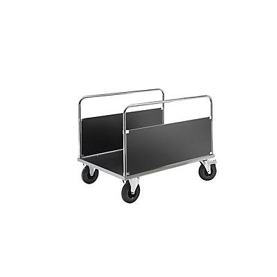 Kongamek Verzinkter Plattformwagen - 2 Seitenwände