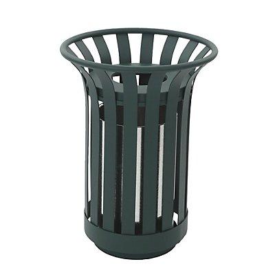 Abfallsammler für außen, Inhalt 23 l, grün