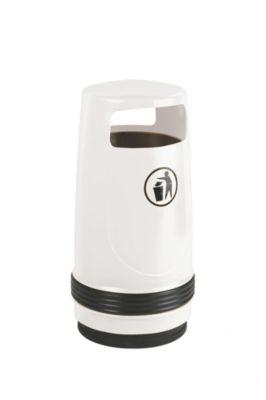 Collecteur de déchets, capacité 90 l, Ø 490 mm, blanc Accessoires de... par LeGuide.com Publicité