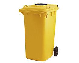 Kunststoff-Mülltonne - mit Einwurfloch