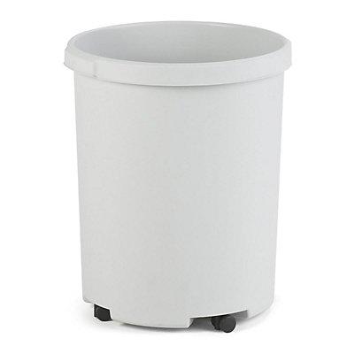 Papierkorb, Kunststoff, rund - Inhalt 50 l