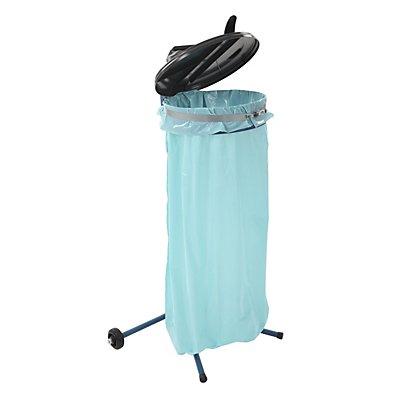 Abfallsackständer, mobil, blau