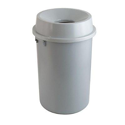 Abfallbehälter, rund, Inhalt 60 l, Ø 450 mm
