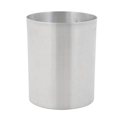 Papierkorb, rund - Aluminium