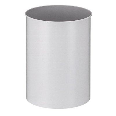 Papierkorb, Metall, rund - Inhalt 15 l, Höhe 309 mm