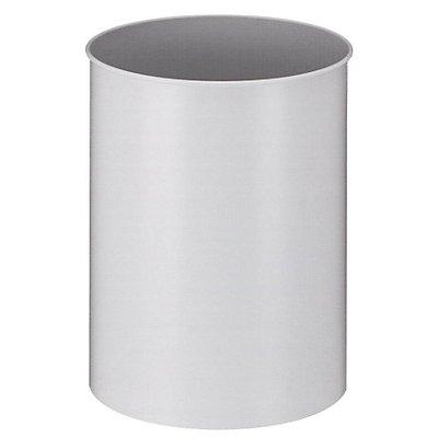 Papierkorb, Metall, rund - Inhalt 30 l, Höhe 470 mm
