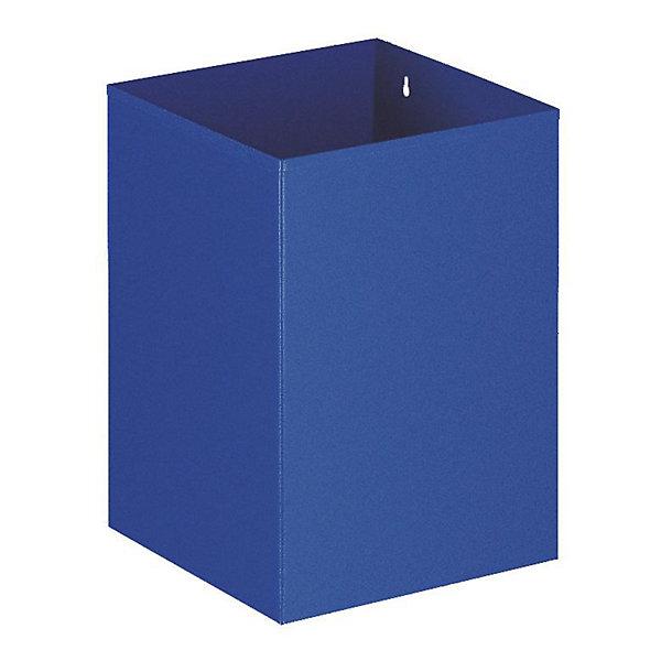 Papierkorb  quadratisch  Inhalt 21 l  blau