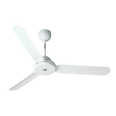 CasaFan Deckenventilator DESIGN 1S - Rotorblatt-Ø 1600 mm - Lack weiß