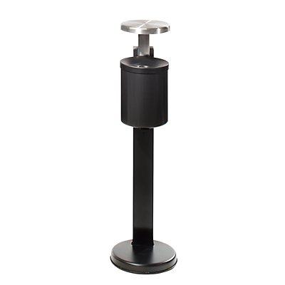 Sicherheits-Standascher XL mit Dach - Gesamthöhe 950 mm, Ascher 250 x 180 mm (H x Ø)