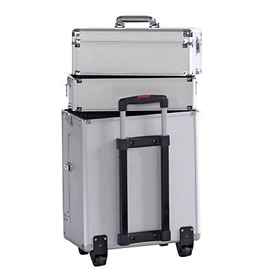 Werkzeug-Etagenkoffer als Trolley, Etagen einzeln abnehmbar, Außen-LxBxH 410 x 220 x 780 mm