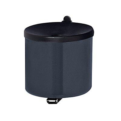 Sicherheits-Wandascher - Höhe 145 mm, Ø 150 mm, Stahlblech