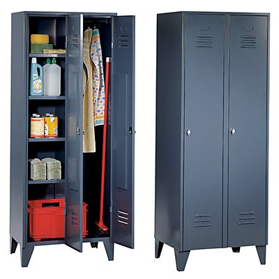 wolf armoire m tallique armoire de m nage sur pieds. Black Bedroom Furniture Sets. Home Design Ideas