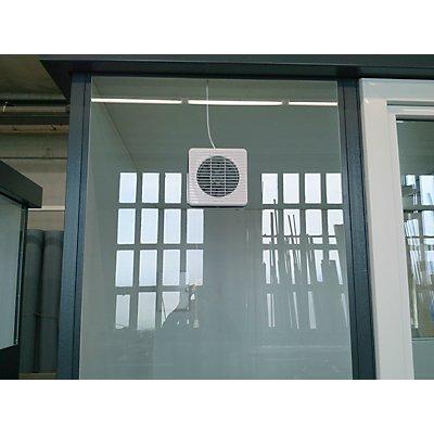 Fenster-Ventilator - zu Mehrzweckhaus - 150 m³/h entlüftend