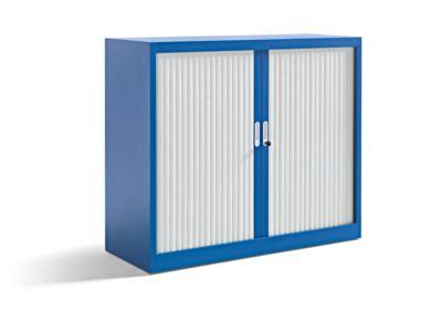 Office akktiv Armoire à rideaux, l x p 1200 x 450 mm hauteur 1050 mm,... par LeGuide.com Publicité