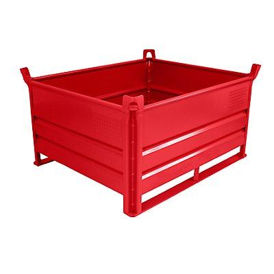 Heson Stapelbehälter mit Kufen, Traglast 500 kg - LxB 1200 x 1000 mm
