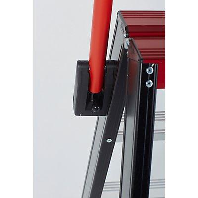 altrex Sicherheits-Stehleiter, beidseitig begehbar, 2 x 8 Stufen