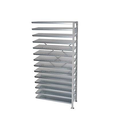 STEMO Steckregal für Regalkästen - HxB 2100 x 1000 mm