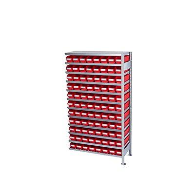 STEMO Steckregal mit Regalkästen - Regalhöhe 1790 mm