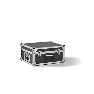 Transportbox, Alu-Rahmen mit MDF-Wänden, Außen-LxBxH 550 x 450 x 310 mm