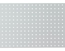 Lochwand für Werkbank - lichtgrau RAL 7035 - LxB 2000 x 450 mm