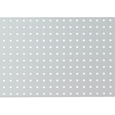 Lochwand für Werkbank - lichtgrau RAL 7035