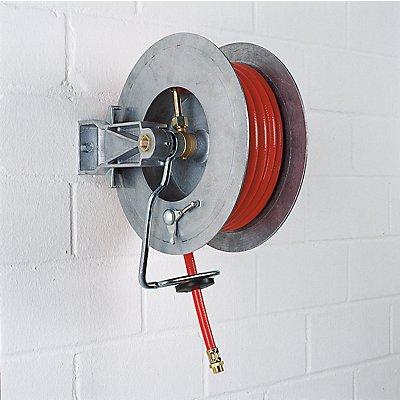 Schlauchaufroller für Luft, bis 15 bar - Schlauch-Nennweite DN 10, Außenanschluss G 3/8″