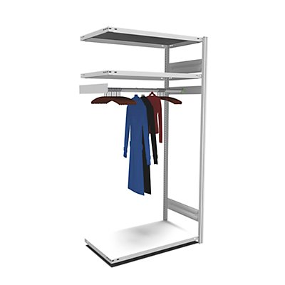 hofe hofe Garderoben-Regal Stecksystem - HxBxT 2000 x 1000 x 600 mm